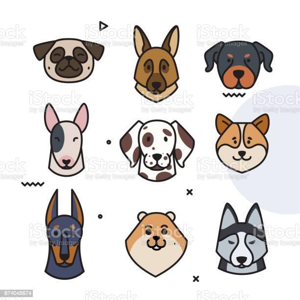 Dog trend labels 2018 year of the dog vector id874045674?b=1&k=6&m=874045674&s=612x612&h=io6kj5pa0rdgaev78u5 fldwvkpdj  km 4hobmgeru=