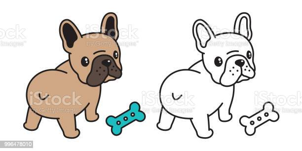 Dog vector french bulldog icon logo bone food toy cartoon character vector id996478010?b=1&k=6&m=996478010&s=612x612&h=nf2usffjuspd 6vlrv51jhyxa8mjjzyueabiajulbhw=