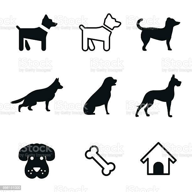 Dog vector icons vector id598151000?b=1&k=6&m=598151000&s=612x612&h=tiatc6cihf8endtjaiv988l p2tdsvpriufwh 9gxtg=
