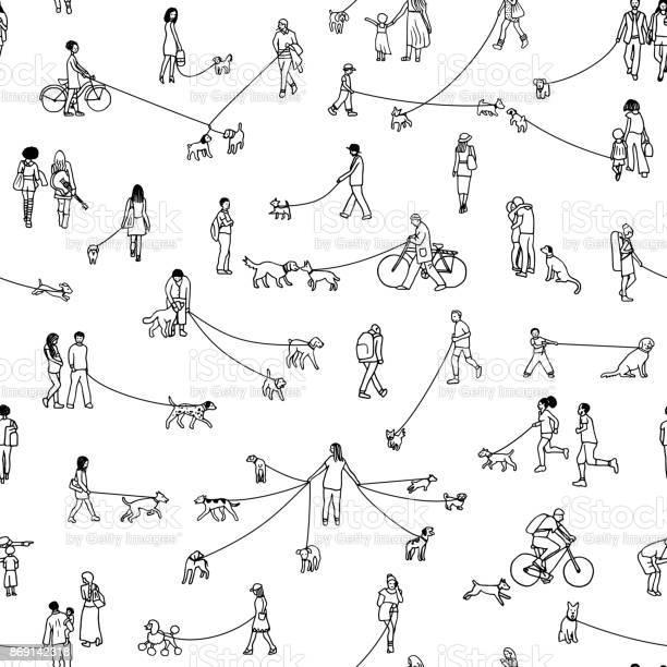 Dog walkers in the park vector id869142318?b=1&k=6&m=869142318&s=612x612&h=bcpucntc3lez3cfqldlr0fkyam2sx50x2vvszjwfgem=