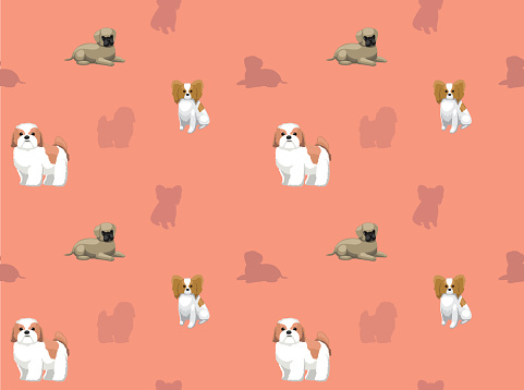 Dog Wallpaper 10 Stock Illustration Download Image Now Istock