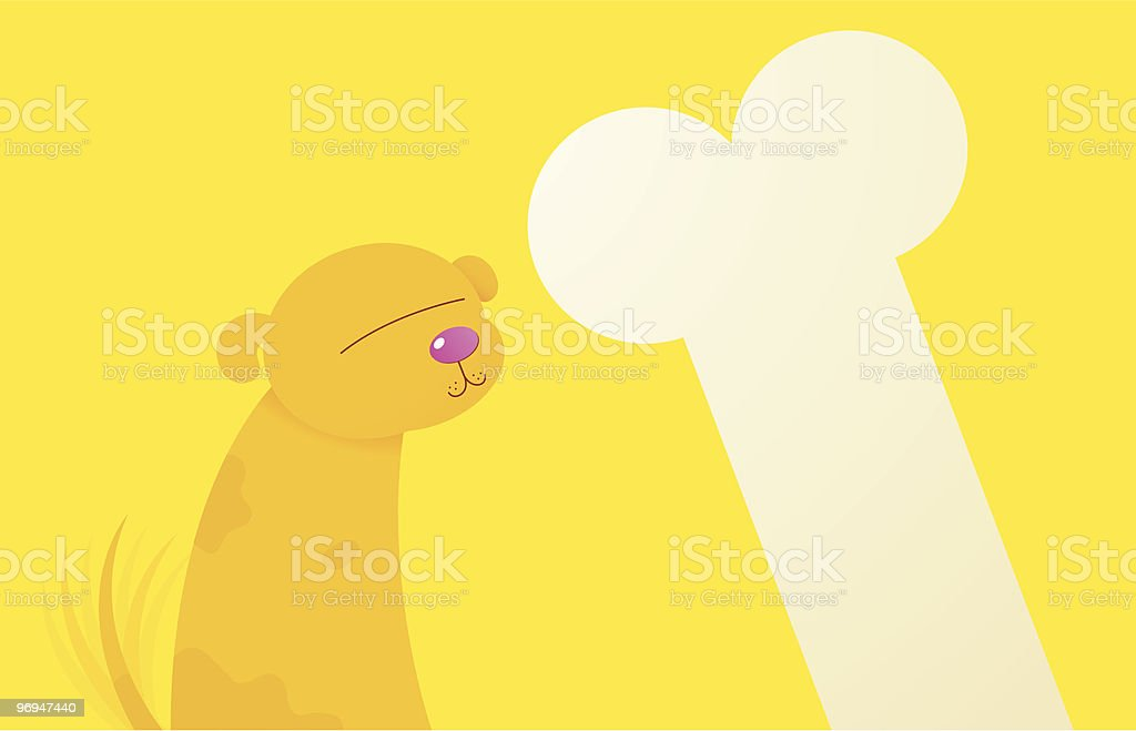 Dog with bone royalty-free dog with bone stock vector art & more images of award