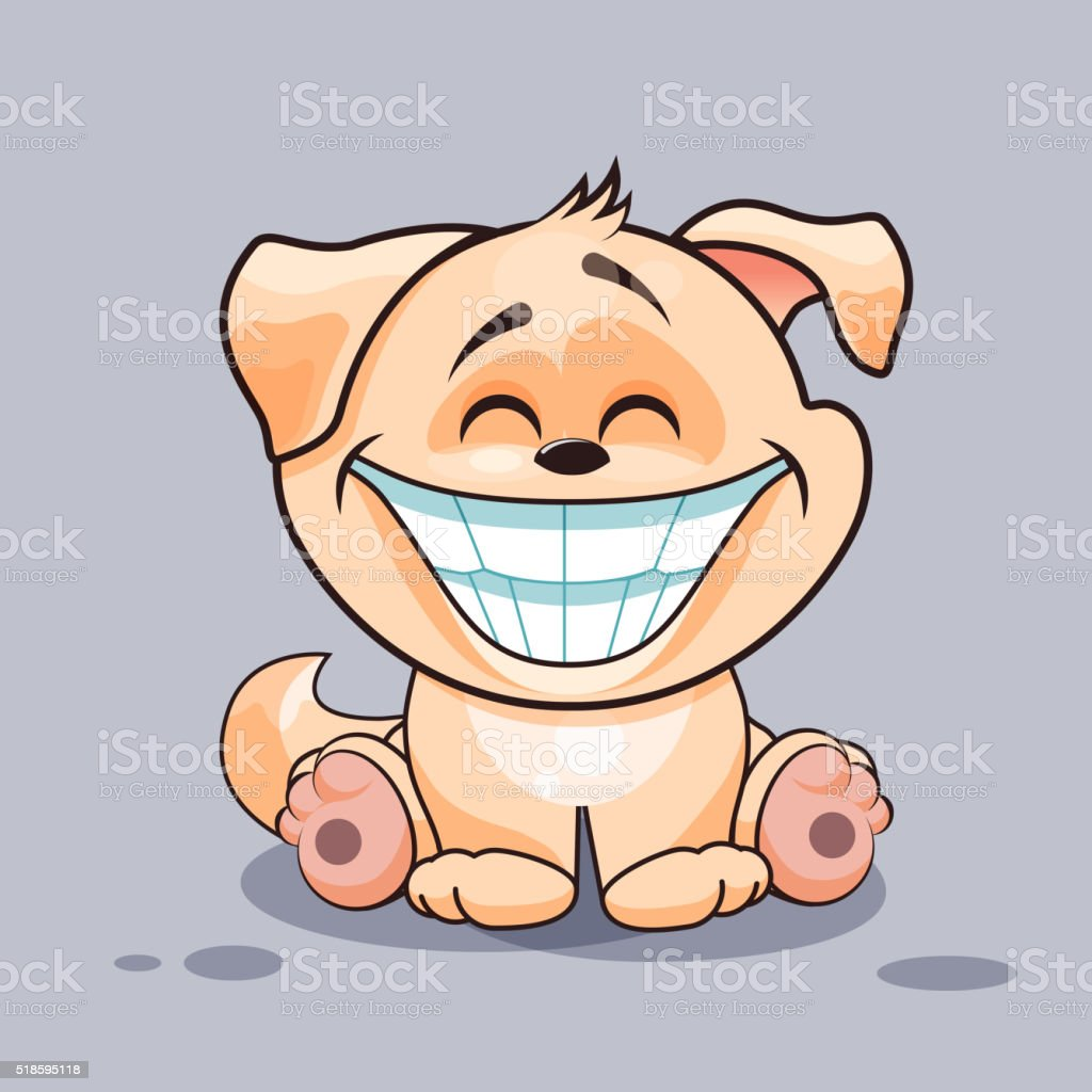 royalty free smiling dog clip art vector images illustrations rh istockphoto com smiley clip art smiley clip art face
