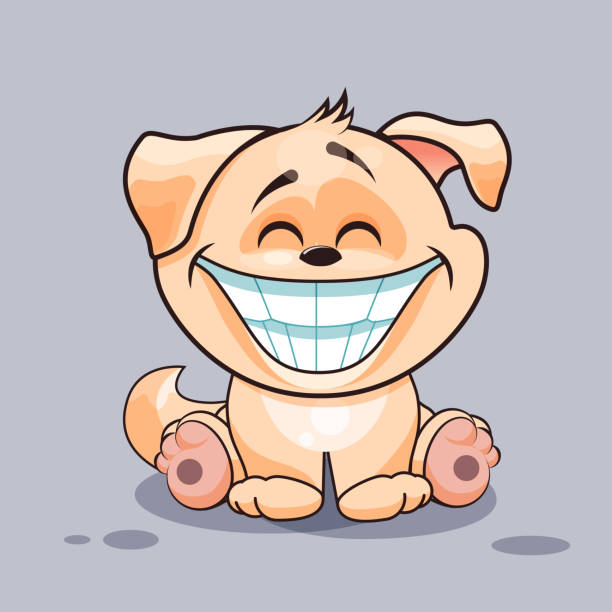 Royalty Free Smiling Dog Clip Art, Vector Images ...