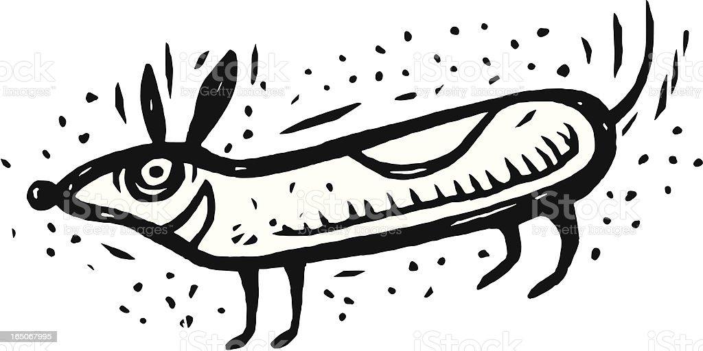 Doggie royalty-free stock vector art