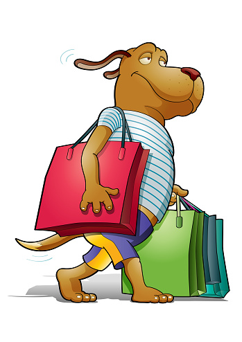 Doggy shopping
