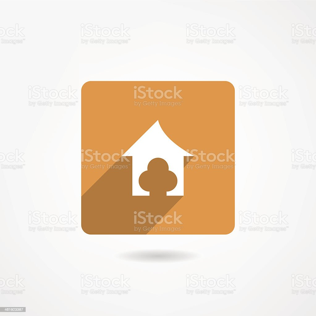doghouse icon royalty-free stock vector art