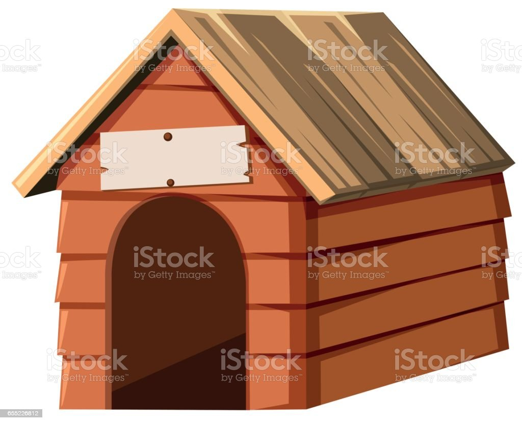 royalty free dog house clip art vector images illustrations istock rh istockphoto com dog house clip art black and white red dog house clipart