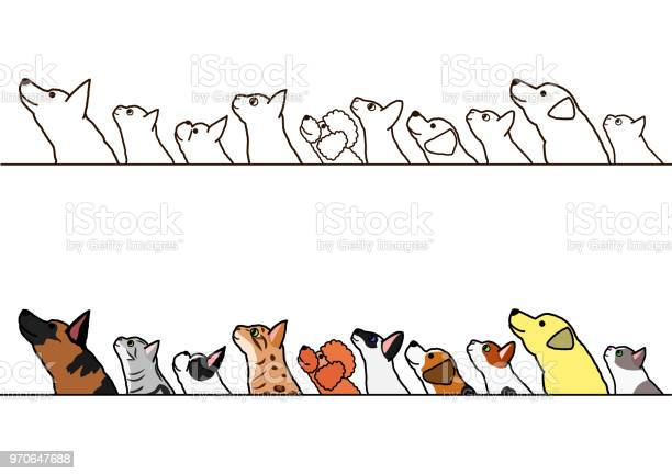 Dogs and cats looking up profile border set vector id970647688?b=1&k=6&m=970647688&s=612x612&h=y ccyxw3hvkinlup6usxjh0amutesse05x0wm1sjvzk=
