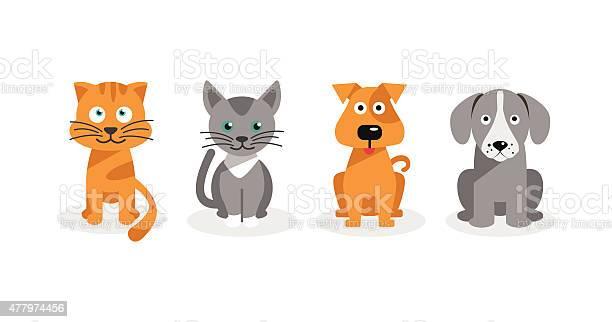 Dogs and cats vector id477974456?b=1&k=6&m=477974456&s=612x612&h=xw8tveljlu1a9nchuflyxdfeavl9l2c3dmfl45hlosm=