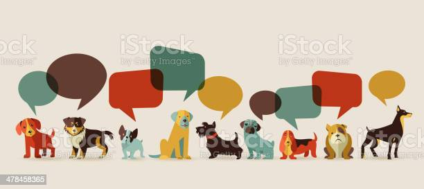 Dogs speaking icons and illustrations vector id478458365?b=1&k=6&m=478458365&s=612x612&h=s8sjgw59kxtxw  sa7qeqomm2  eszpo5aqlq2fxays=