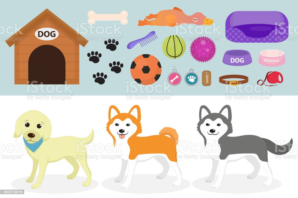 Royalty Free Dog Toy Clip Art Vector Images Illustrations Istock