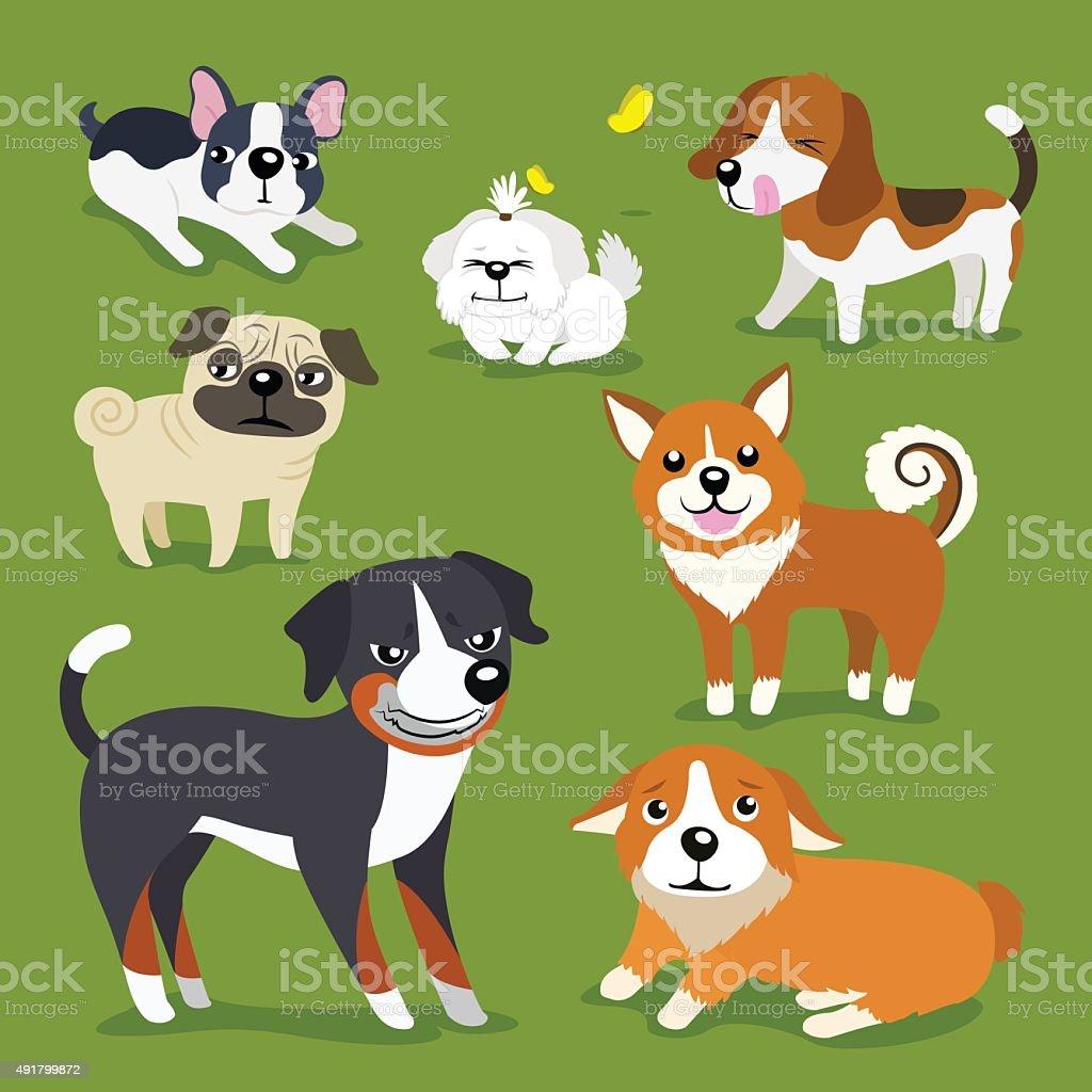犬 のイラスト素材 491799872 | istock