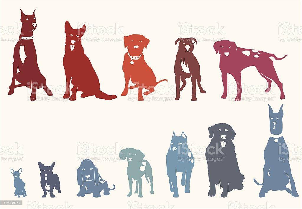 Cani cani - immagini vettoriali stock e altre immagini di alano tedesco royalty-free