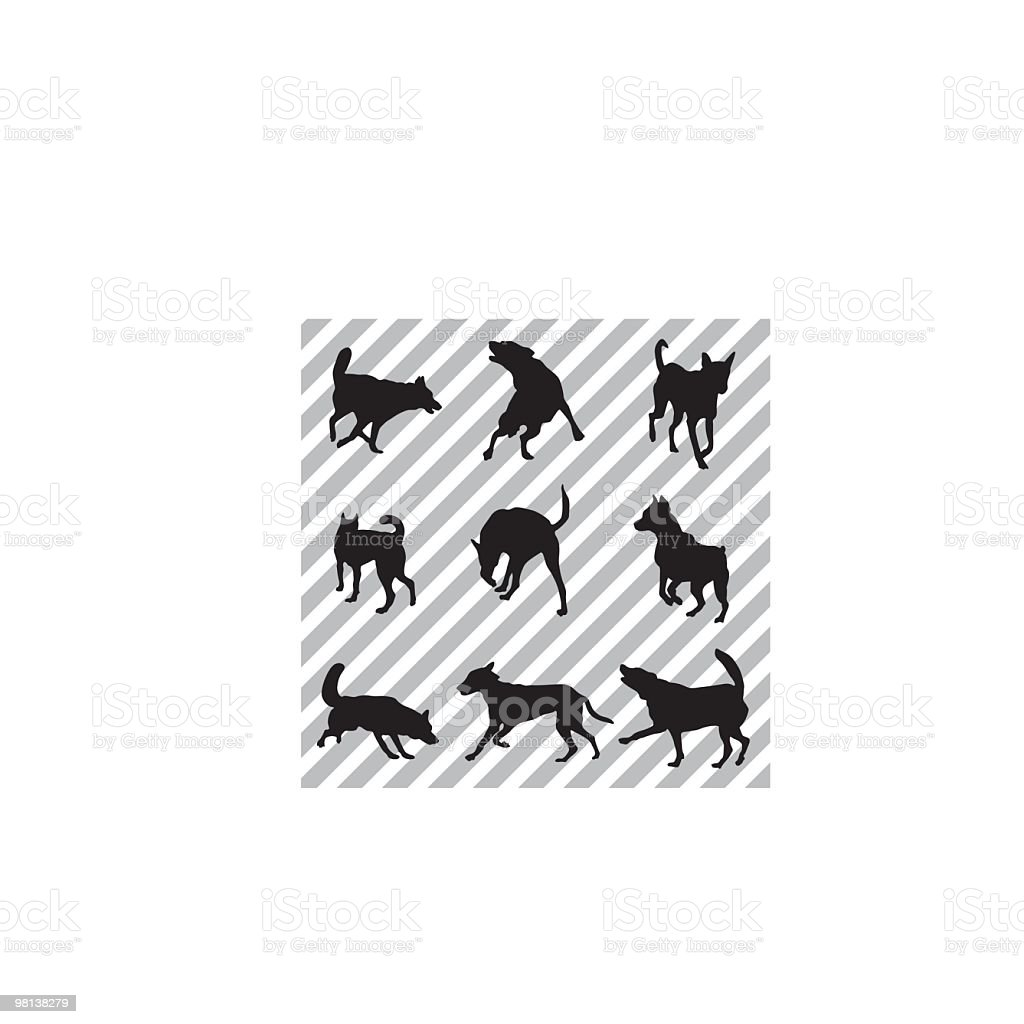 Dogs royalty-free dogs stock vector art & more images of animal