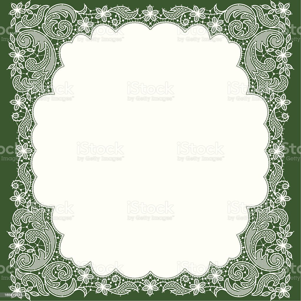 Doily royalty-free doily stock vector art & more images of angle