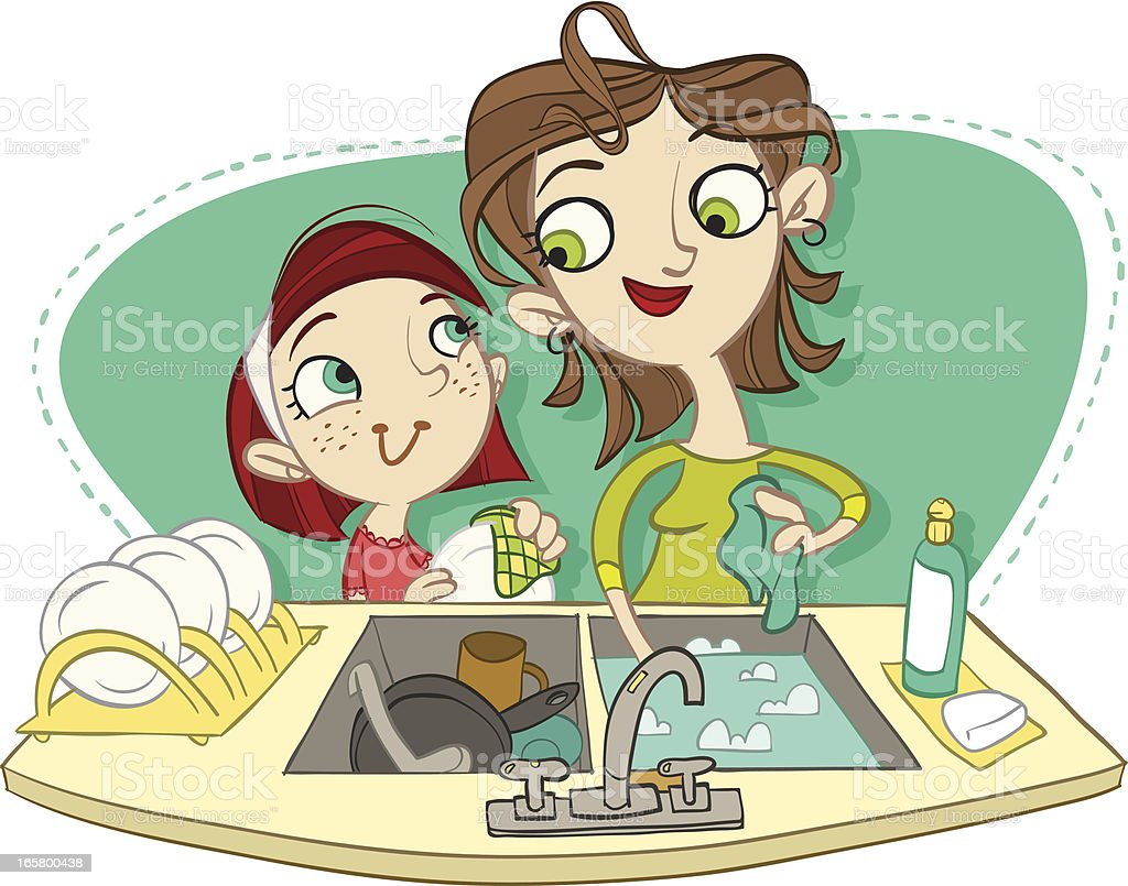 royalty free dirty dishes in sink clip art vector images rh istockphoto com dirty dishes clipart dirty dishes clip art free