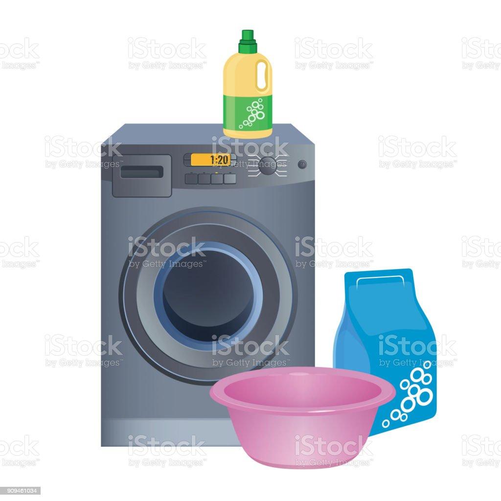 Nettoyage De La Machine À Laver faire affiche buanderie avec machine À laver nettoyage