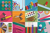 Do-it-yourself. Variety of subjects and tools