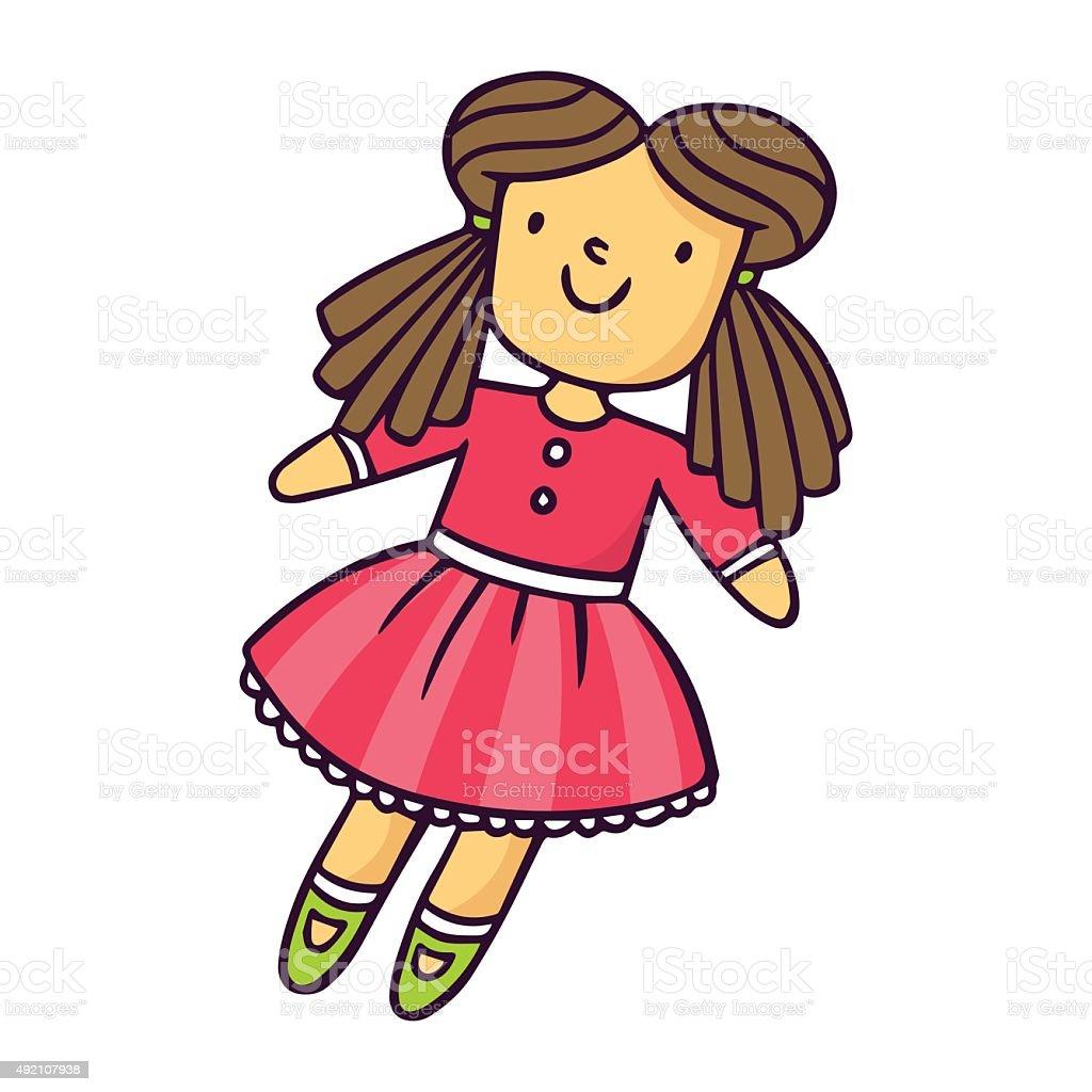 royalty free baby doll clip art vector images illustrations istock rh istockphoto com doll clipart free doll clip art free