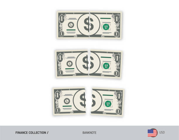 Royalty Free Dollar Bill Coupon Template Silhouette Clip Art Vector