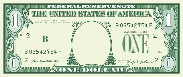 1 dollar banknote