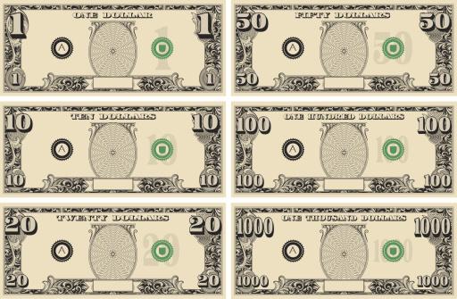 dollar bill Money Kit