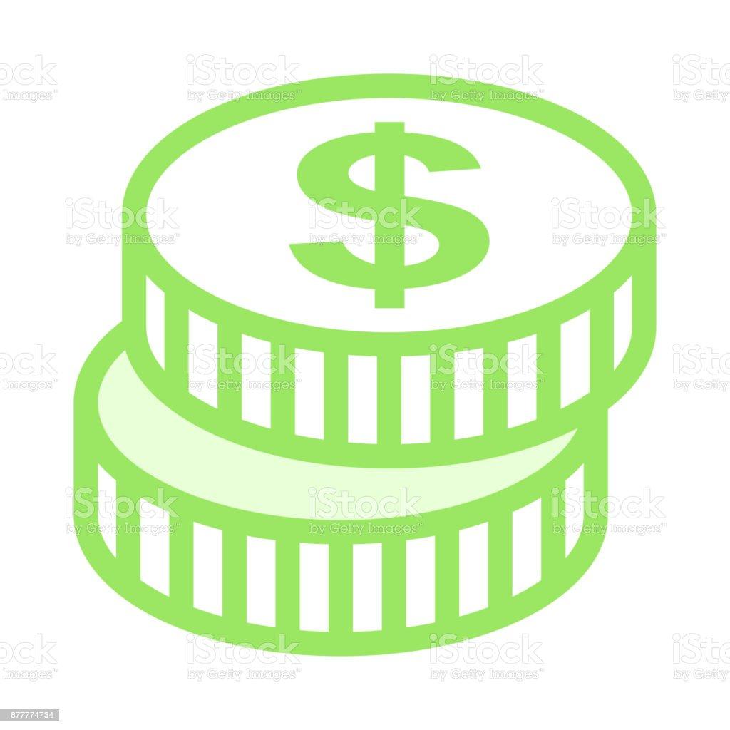 royalty free loonie clip art vector images illustrations istock rh istockphoto com  canadian 100 dollar bill clipart