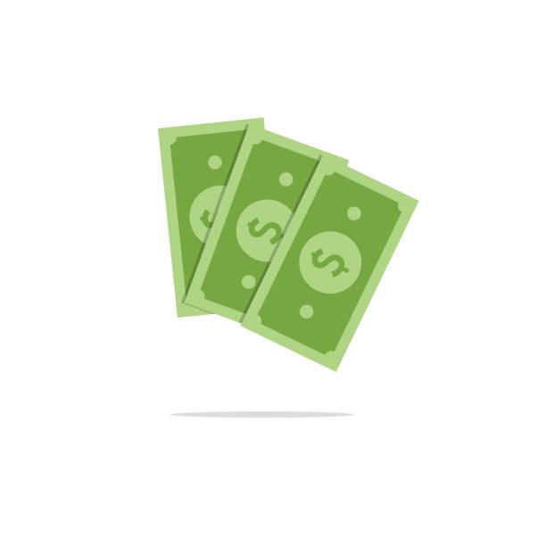 dollar icon vector illustration dollar icon vector illustration american one hundred dollar bill stock illustrations