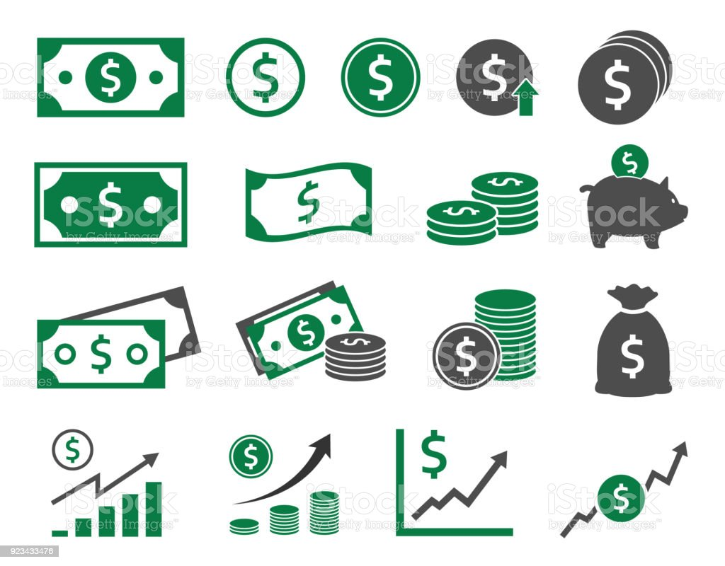 dollar icons set, money icon dollar icons, money signs set vector illustration Adult stock vector