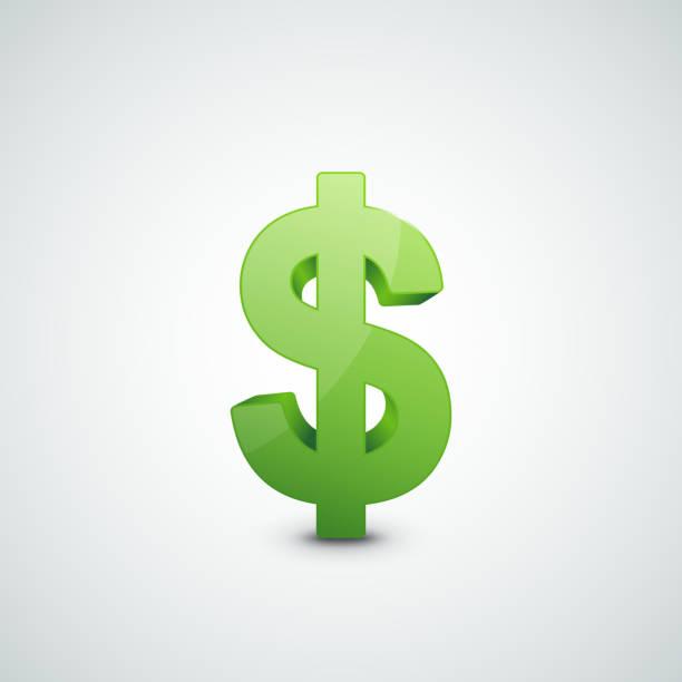 ドル記号イラストレーション - ドル記号点のイラスト素材/クリップアート素材/マンガ素材/アイコン素材