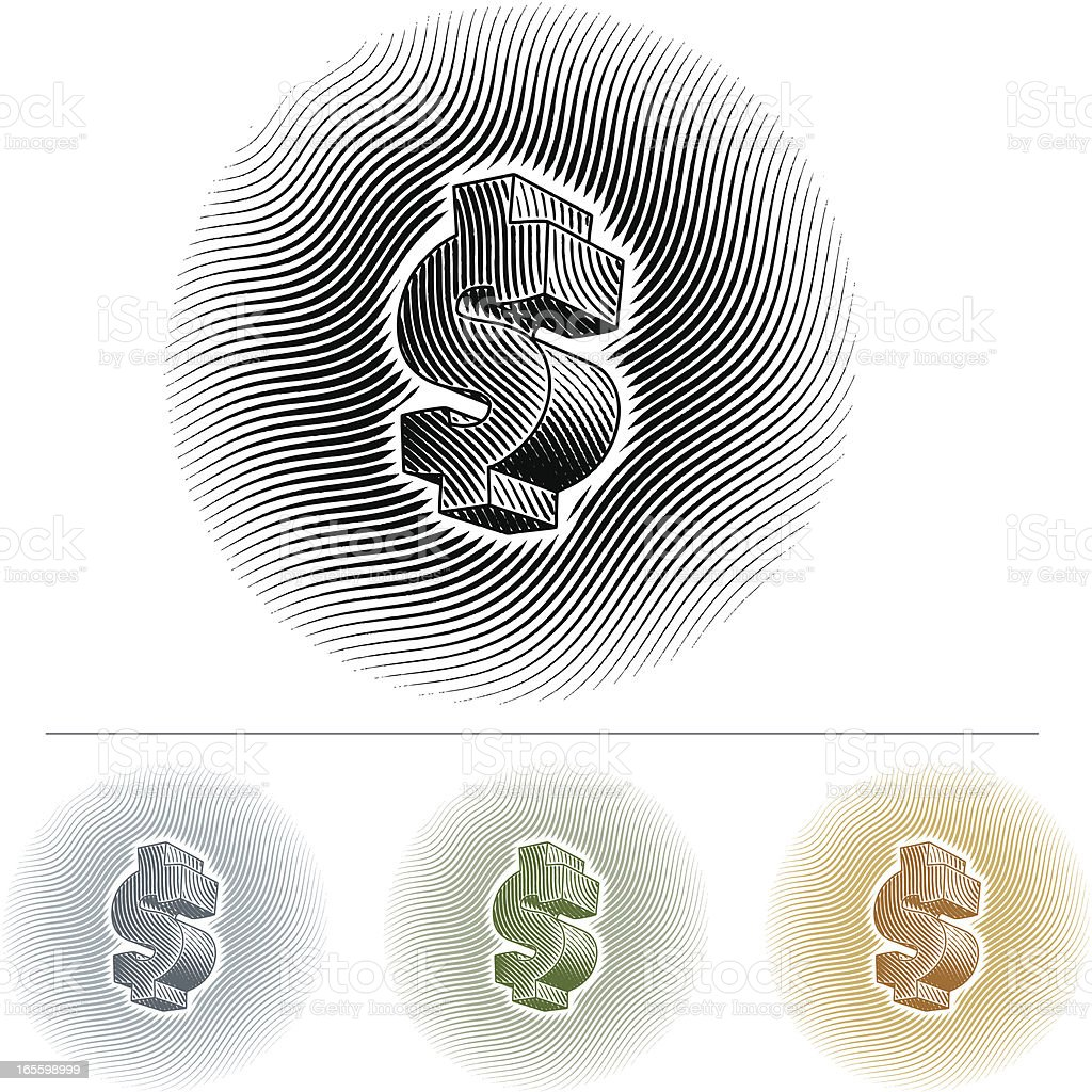 Dollar Sign royalty-free dollar sign stock vector art & more images of banking