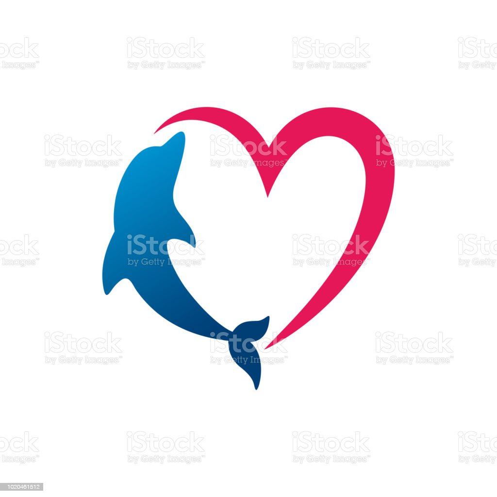 Dolphin Template Design Symbol Icon Stock Vector Art & More Images ...