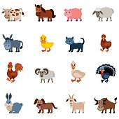 Domestic Animal Characters