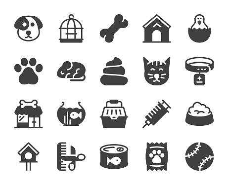 Domestic Animals - Icons