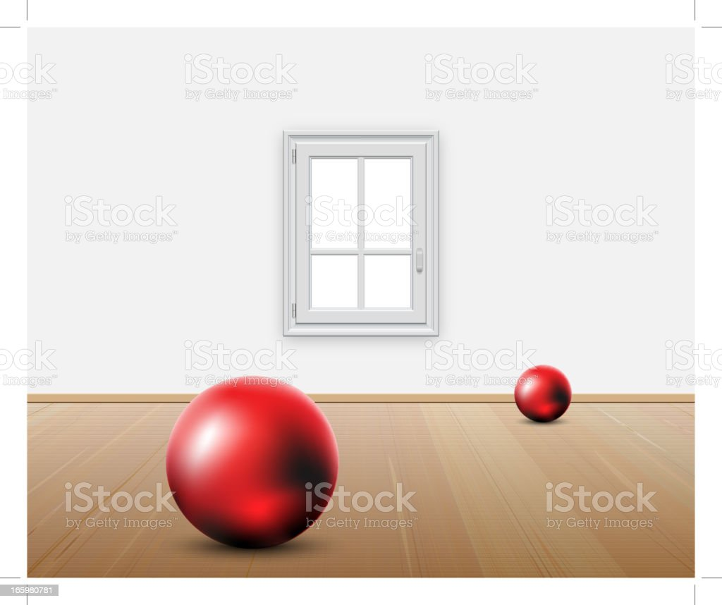 Domestic Room - concept royalty-free stock vector art