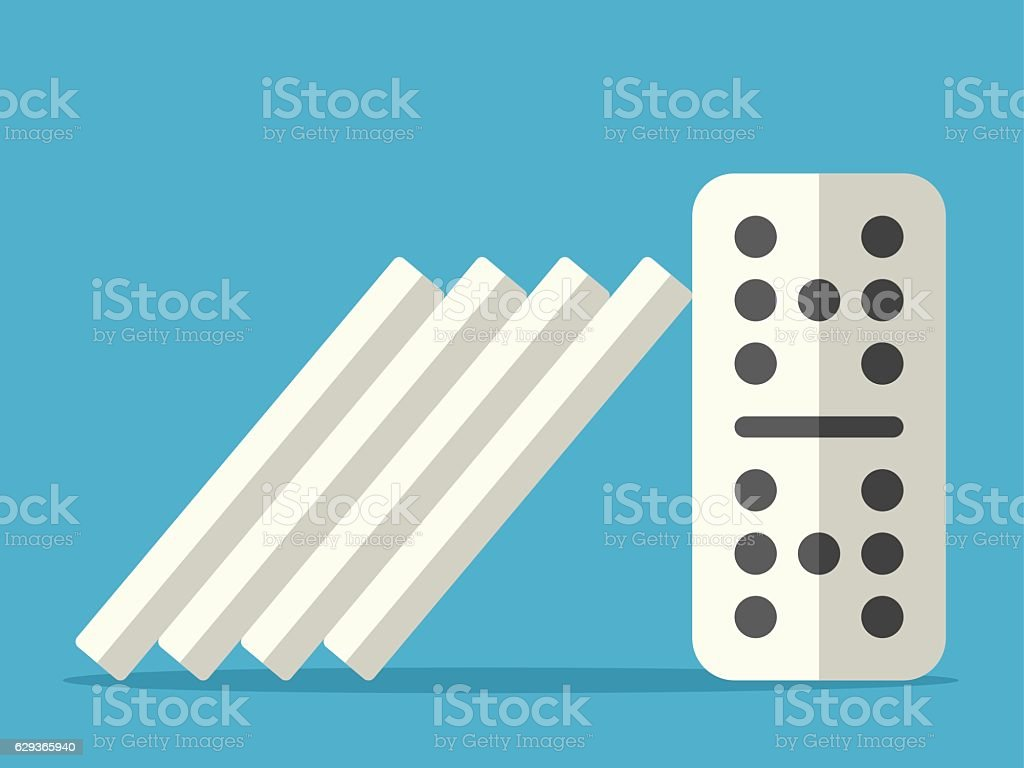 Domino effect stopped