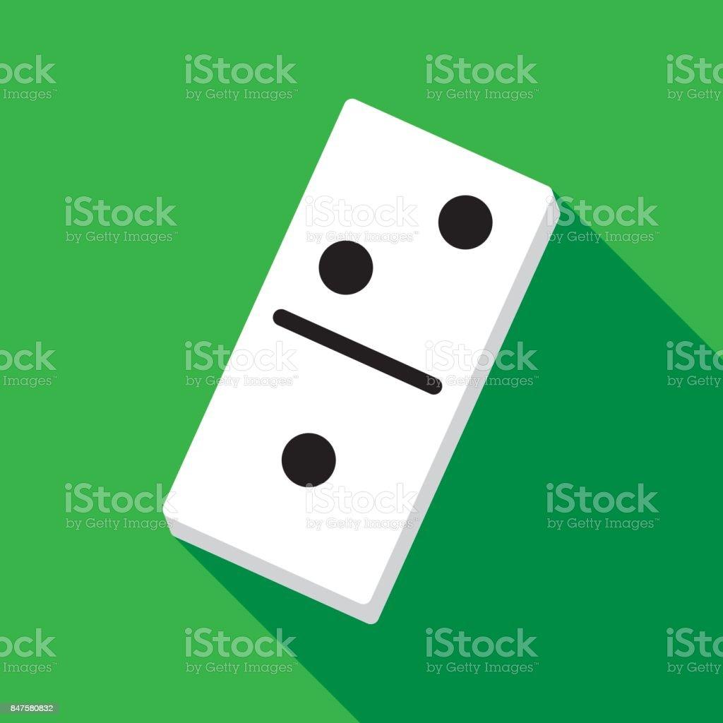 Domino Icon Flat