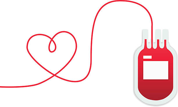 donate blood for sharing love, blood donation vector, sign and symbol vector art illustration