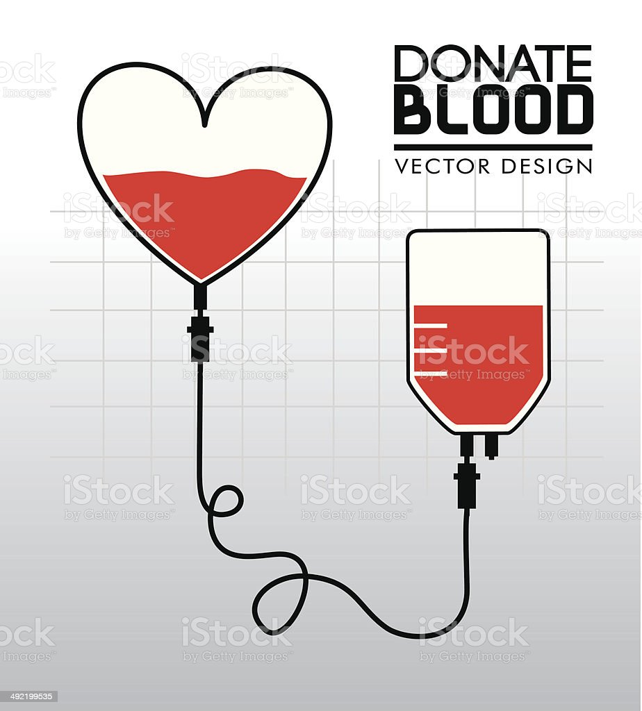 donate blood royalty-free stock vector art