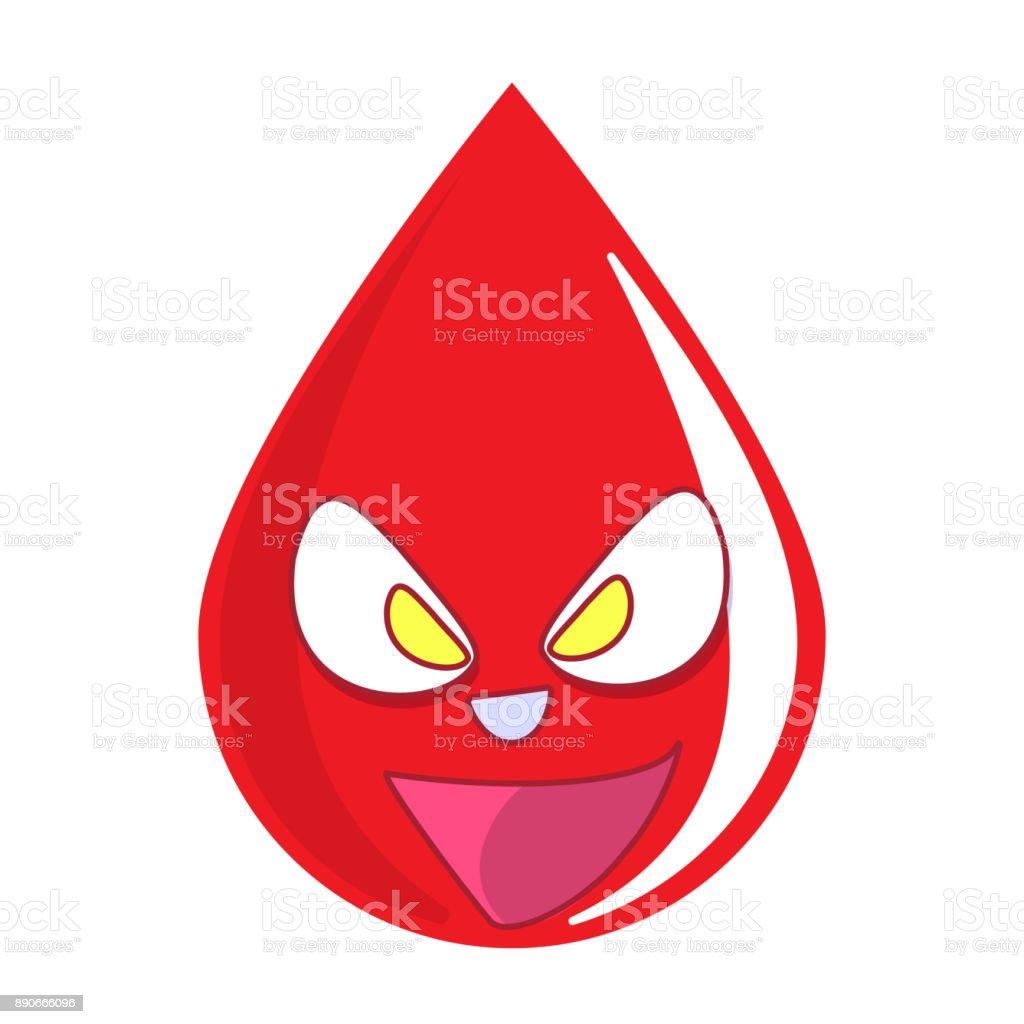 Realistické krevní stříkance a kapky vektorové sada.