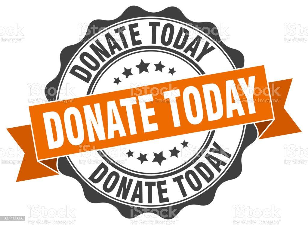 donate today stamp. sign. seal royalty-free donate today stamp sign seal stock vector art & more images of award ribbon