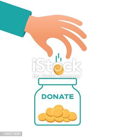 istock Donate 1250273281