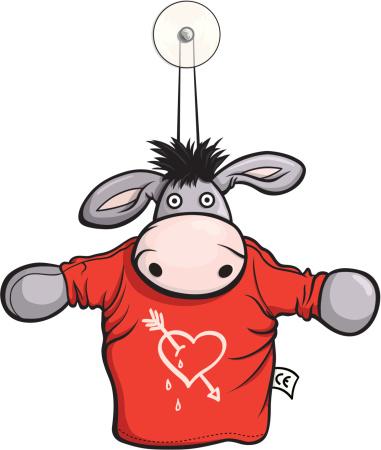 Donkey in love