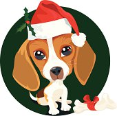 istock Don't forget mans best friend, Merry Christmas 165925163