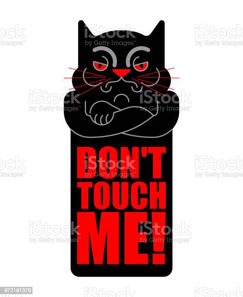 Dont touch me grumpy cat vector illustration vector id972161376?b=1&k=6&m=972161376&s=612x612&h=u759gtbwd7wmbqdtply7giadmogxo8wnt8gmpwkay6e=