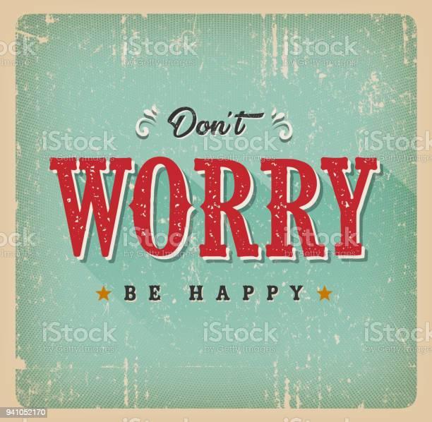 Dont worry be happy card vector id941052170?b=1&k=6&m=941052170&s=612x612&h=jkw5icqlumjmf4 nx8ch1dednwhiyey1a0op yzx8aq=