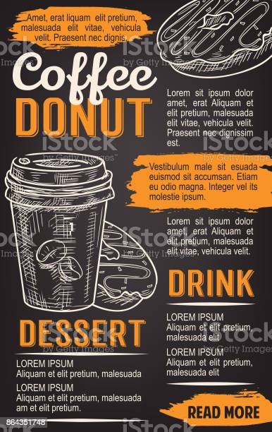 Donut and coffee chalkboard poster template vector id864351748?b=1&k=6&m=864351748&s=612x612&h=b8n8hwibs0x8tobfpgrv4dxc2vcboxwtnc21xxoyowg=