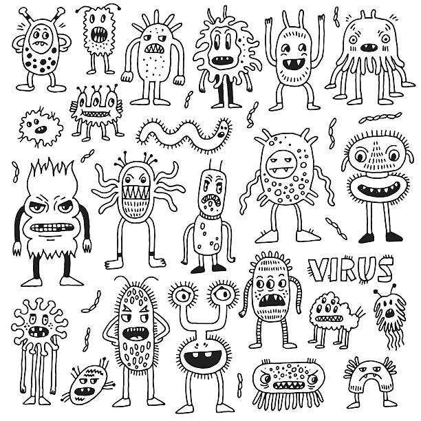 Royalty Free Monster Clip Art, Vector Images