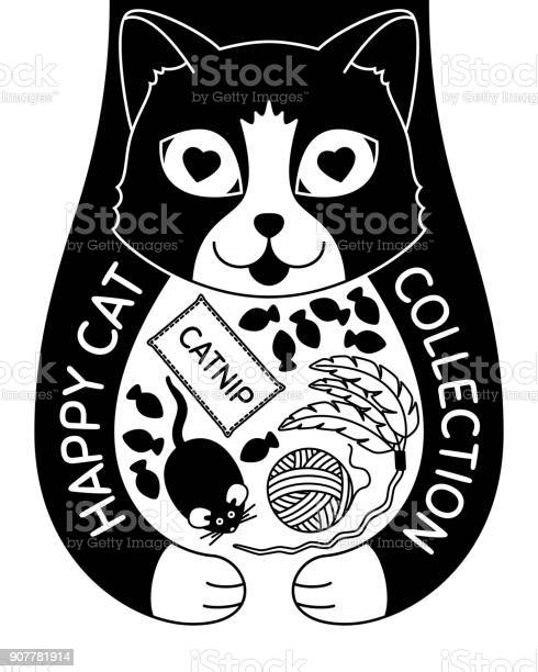 Doodle cat with toys and treats vector id907781914?b=1&k=6&m=907781914&s=612x612&h=co7jl7xlmeza2kqjytfeyy7n apdrwbvwwperdc1acc=